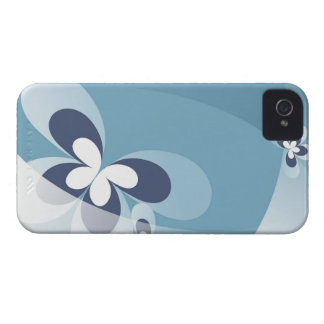 Abstract Blue Butterflies Blackberry Bold Case. Case-Mate iPhone 4 Cases