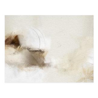 Abstract Carab 3 Postcard