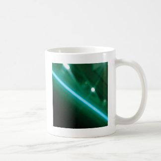 Abstract Crystal Reflect Radio Basic White Mug
