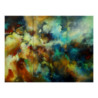Abstract design c547b poster