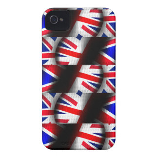 Abstract Patterned Union Jack iPhone 4 Case-Mate Cases