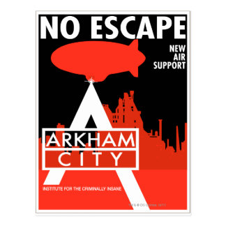 AC Propaganda - No Escape - New Air Support Postcard