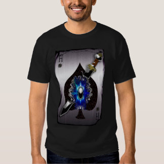 ace of spades playing card tshirts