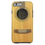 Acoustic Guitar Tough iPhone 6 Case