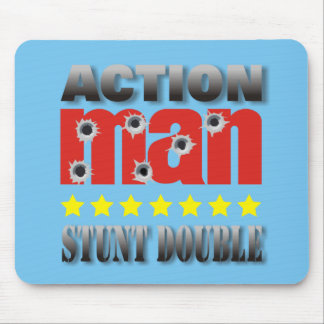 Action Man Stunt Double Mousepad