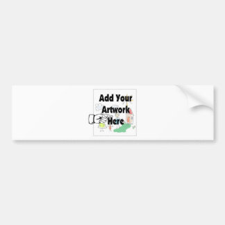 Add your own Artwork or Kid's Artwork for gifts Bumper Sticker