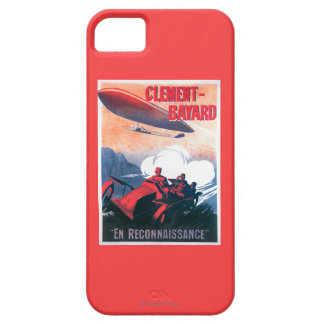 Adjudant Vincenot WWI Airship Promotional Poster iPhone 5 Covers