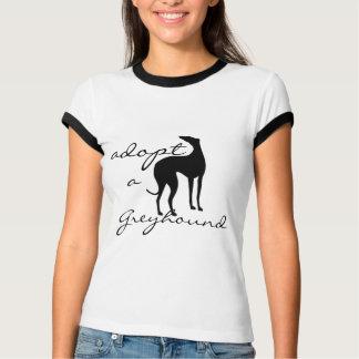 Adopt a Greyhound Dog T Shirts