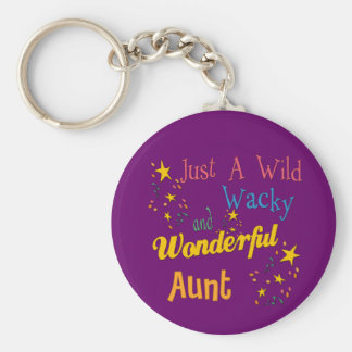 Adorable Gifts For Aunts Basic Round Button Key Ring