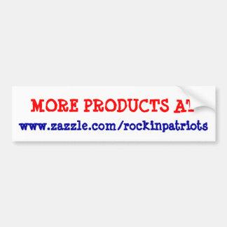 Advertise for Rockin Patriots Bumper Sticker