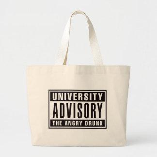 Advisory The Angry Drunk Jumbo Tote Bag