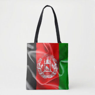 Afghanistan Flag All-Over-Print Tote Bag