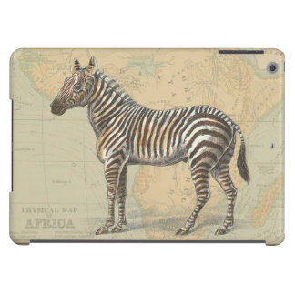 Africa Map and a Zebra iPad Air Cover