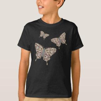 African Swallowtail Kid's and Baby Dark Shirt
