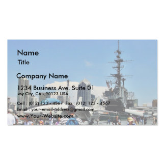 Aircraft Carrier Ship Pack Of Standard Business Cards