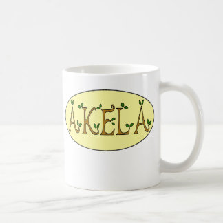 akela basic white mug
