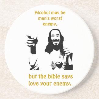 Alcohol  Coaster
