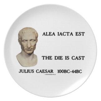 Alea Iacta Est The Die Is Cast Caesar Plates