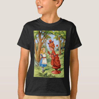 ALICE AND THE RED QUEEN T SHIRT