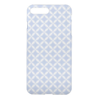Alice Blue Quatrefoil in an English Country Garden iPhone 7 Plus Case