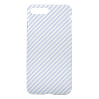 Alice Blue Tent Stripe in English Country Garden iPhone 7 Plus Case