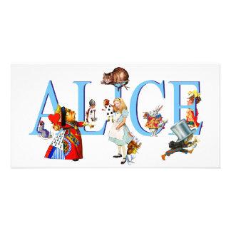 ALICE IN WONDERLAND & FRIENDS PHOTO CARD