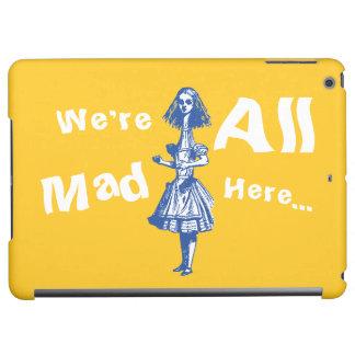 Alice Stretched in Wonderland