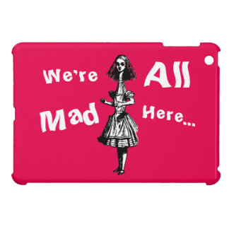 Alice Stretched in Wonderland Case For The iPad Mini