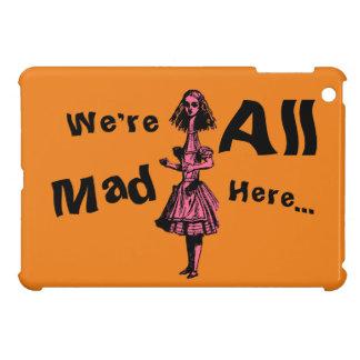 Alice Stretched in Wonderland iPad Mini Cases