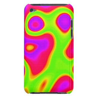 Alien abstract art case for iPod
