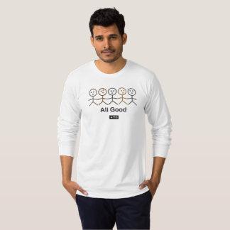 All Good Men's Am Apparel Jersey Long Sleeve T T Shirt
