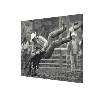 All Indian Rodeo in Tygh Valley, Oregon. Clint Canvas Print