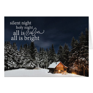 All is Calm All is Bright Christmas Card