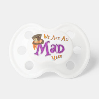 All Mad Baby Pacifiers