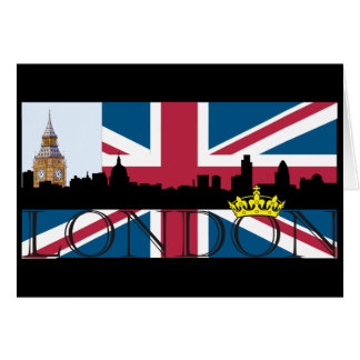 All That's London Greeting Card
