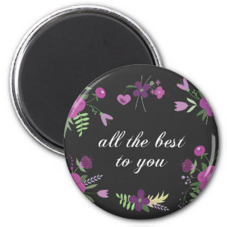 All the best 6 cm round magnet