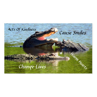 Alligator Random Acts of Kindness Card Pack Of Standard Business Cards