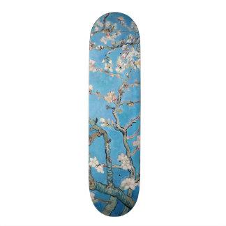 Almond Blossoms Blue Vincent van Gogh Art Painting Skateboard Deck