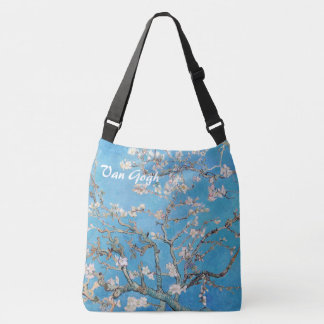 Almond Blossoms Tree Blue Vincent van Gogh Art Tote Bag