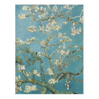 Almond tree in blossom by Vincent Van Gogh Postcard
