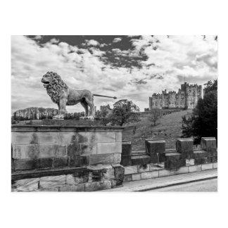 Alnwick Castle, Northumberland Postcard