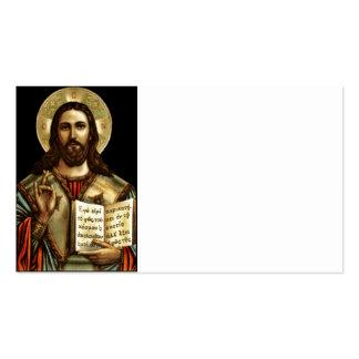 Alpha and Omega Jesus Pack Of Standard Business Cards