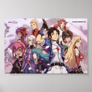 Alpha Kimori Characters Poster