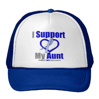 ALS Awareness I Support My Aunt Cap