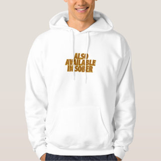 Also Available In Sober Hooded Sweatshirt