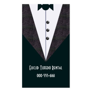 alterations/tux pack of standard business cards