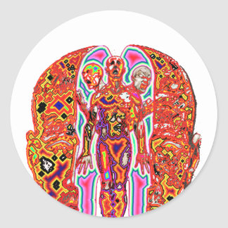 Altered Ego Round Sticker