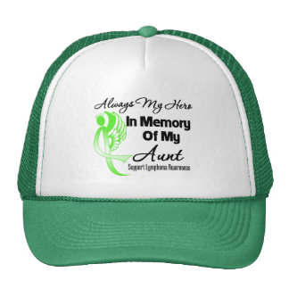 Always My Hero In Memory Aunt - Lymphoma Cap