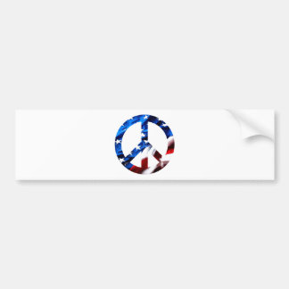 am peace bumper sticker
