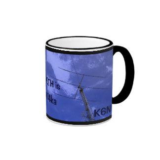 Amateur Radio QTH and Callsign Mug